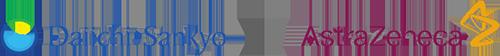 Daiichi und AstraZeneca Logo